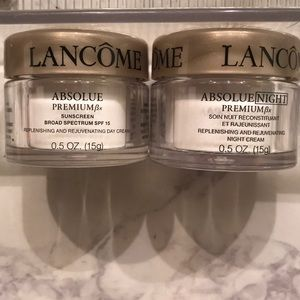 Travel size Lancome Absolue Premium Day & Night